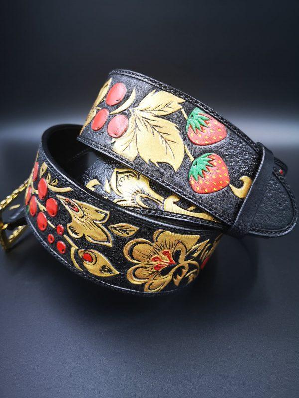 Cinturones de cuero - Antonina Kadyrova