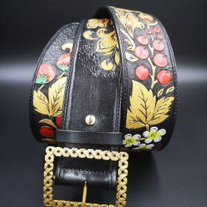 Cinturon de piel - Antonina Kadyrova