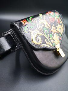 Riñoneras de cuero artesanales - Antonina Kadyrova