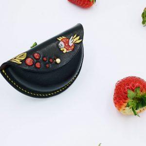 Monedero de piel pez Mario - Antonina Kadyrova