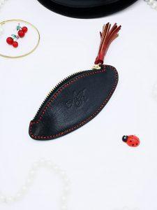 Monedero de piel personalizado - Antonina Kadyrova